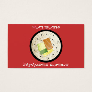 Japanese restaurant business cards business card printing zazzle uk japanese cuisine restaurant business cards reheart