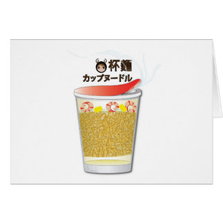 Japanese Cup Noodle Cards
