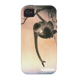 Japanese Dangling Monkey Woodblock Art Ukiyo-E Vibe iPhone 4 Covers