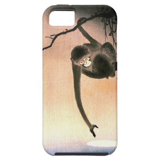 Japanese Dangling Monkey Woodblock Art Ukiyo-E iPhone 5 Case