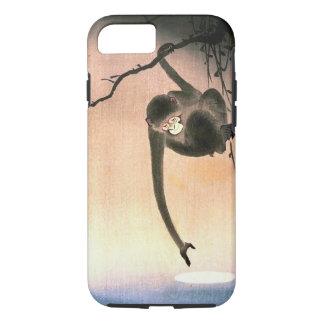 Japanese Dangling Monkey Woodblock Art Ukiyo-E iPhone 7 Case