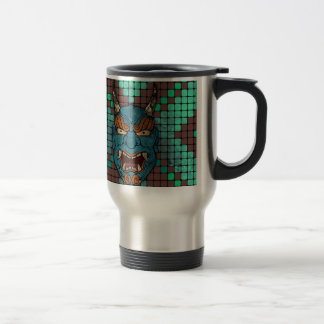 Japanese Demon Coffee Mugs