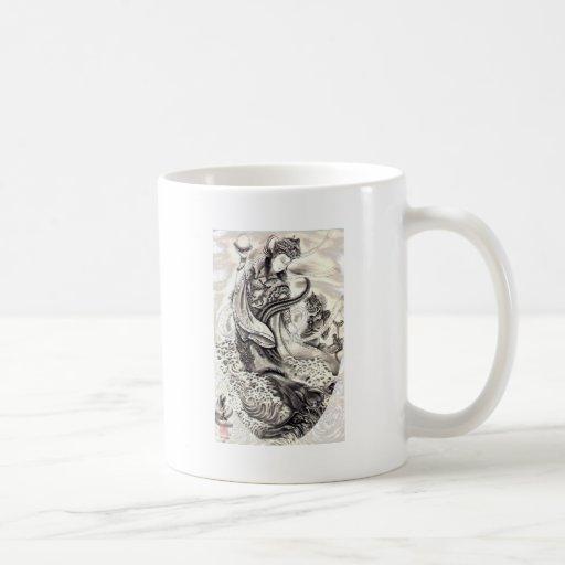 Japanese Demons of Sea Mug