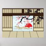 Japanese Design - Shoji View Posters