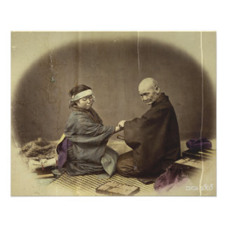 Japanese Doctor 1868 Photograph Flyers