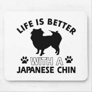 Japanese dog breed designs mouse pad