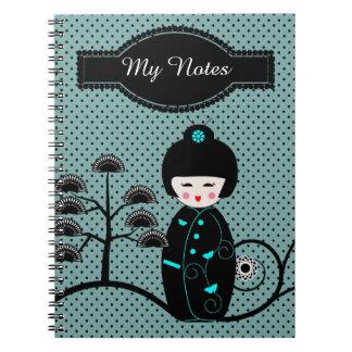 Japanese Doll Notebooks