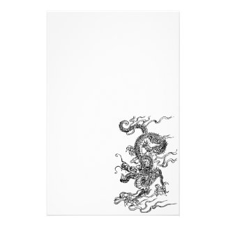 Japanese Dragon - In the Chinese Style Stationery Design