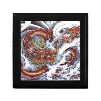 Japanese Dragon Tattoo Design Gift Box