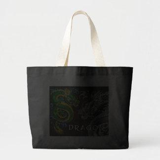 Japanese Dragon Jumbo Tote Bag