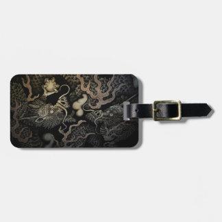 Japanese Dragons Luggage Tag