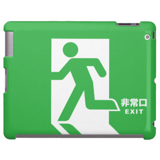 Japanese Emergency Exit Sign
