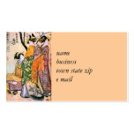 Japanese Engraving Three Geisha 1911 Pack Of Standard Business Cards