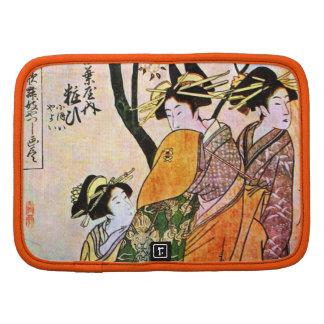 Japanese Engraving Three Geisha 1911 Planners