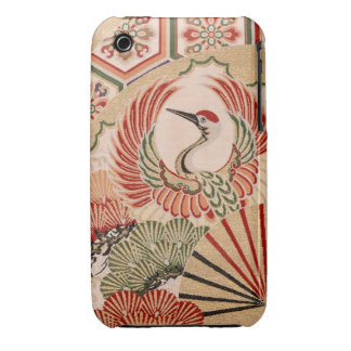 Japanese fabric iPhone 3G/3GS Case-Mate Case