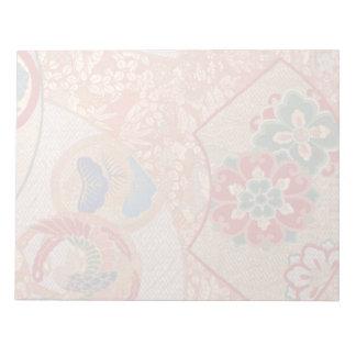 Japanese fabric Notepad