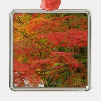 Japanese Fall Foliage Christmas Ornament