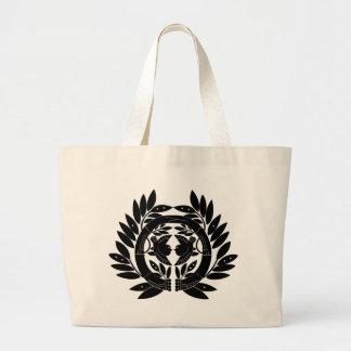 Japanese Family Crest KAMON Symbol Canvas Bags
