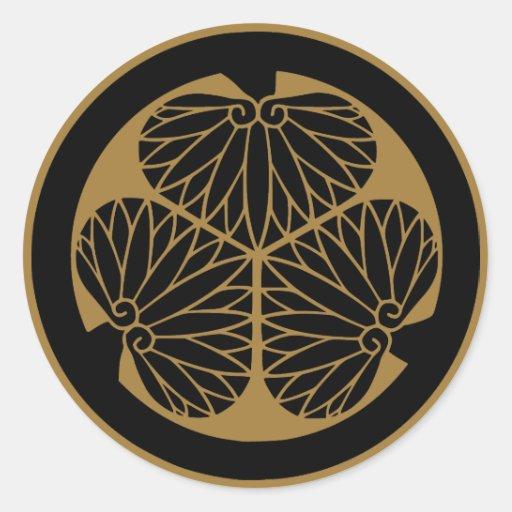 Japanese Family Crest KAMON Symbol Stickers