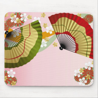 Japanese Fan 3 Mouse Pad