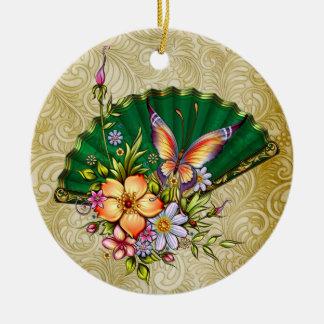 Japanese Fan 3 - SRF Christmas Tree Ornaments