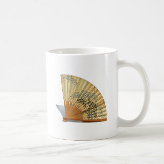 Japanese Fan Basic White Mug