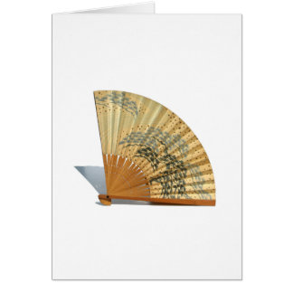 Japanese Fan Greeting Card
