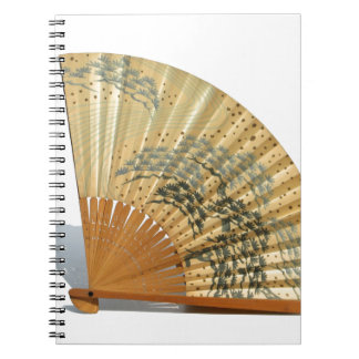 Japanese Fan Spiral Note Book