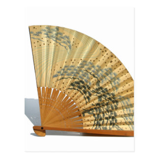 Japanese Fan Postcard