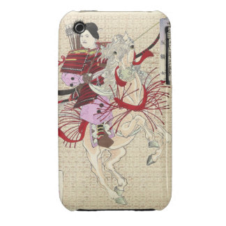 Japanese Female Warrior Blackberry Curve Case-Mate iPhone 3 Case-Mate Case
