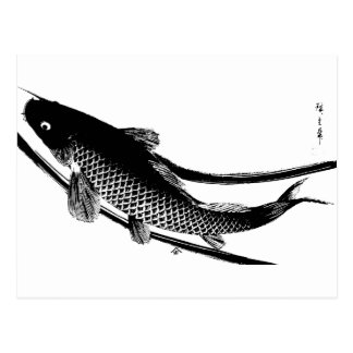 Japanese Fish Postcard