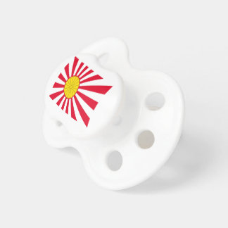 Japanese Flag And Inperial Seal Baby Pacifiers