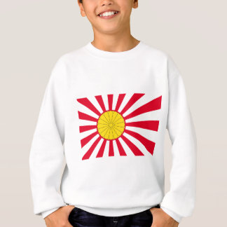 Japanese Flag And Inperial Seal Sweatshirt