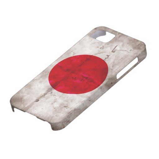 Japanese Flag iPhone 5 Cases