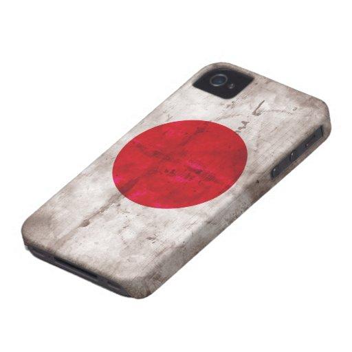 Japanese Flag Blackberry Case