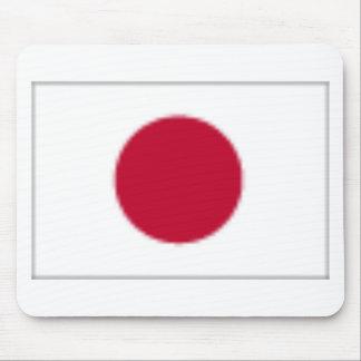 Japanese flag design mouse mat