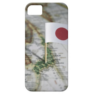 Japanese flag in map case for the iPhone 5