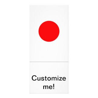 Japanese Flag Invites