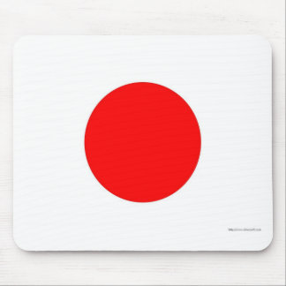 Japanese Flag Mouse Mat