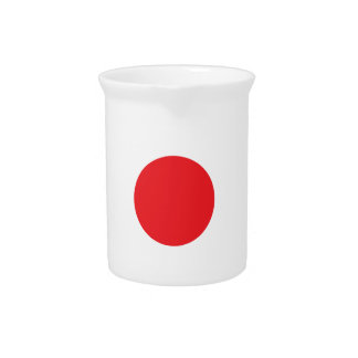 Japanese flag pitcher