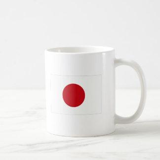 Japanese Flag T-shirts and Apparel Basic White Mug