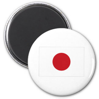 Japanese Flag T-shirts and Apparel 6 Cm Round Magnet