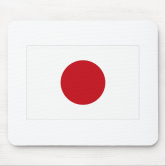 Japanese Flag T-shirts and Apparel Mouse Pad