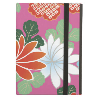 Japanese Floral Kimono Pattern Fine Art Case For iPad Air