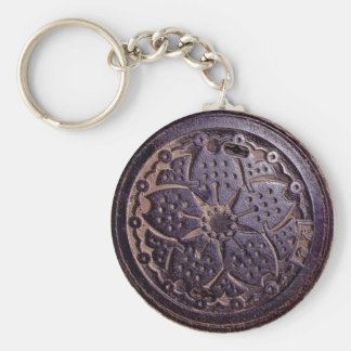 japanese flower cover key chains
