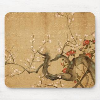 Japanese Flower Garden Mouse Mat
