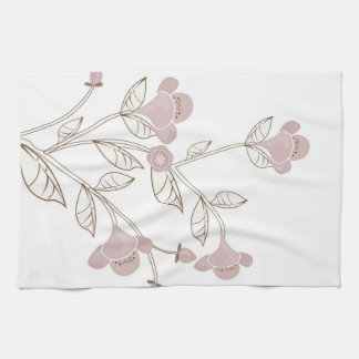 Japanese flowers American MoJo Kitchen Towel
