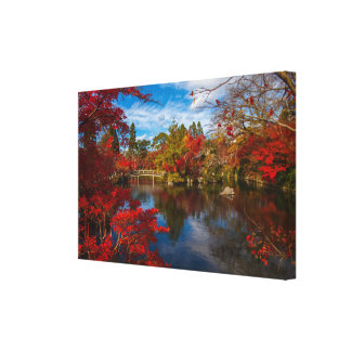 Japanese Foliage Canvas Print