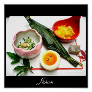 Japanese Food, Images from Japan Poster