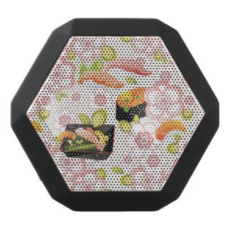 Japanese Food: Sushi Pattern 2 Black Bluetooth Speaker